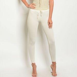 Pants - Cream Pants